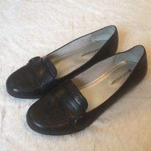 Naturalizer 6 Black loafer flats melia